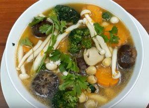 Món ăn từ nấm tươi
