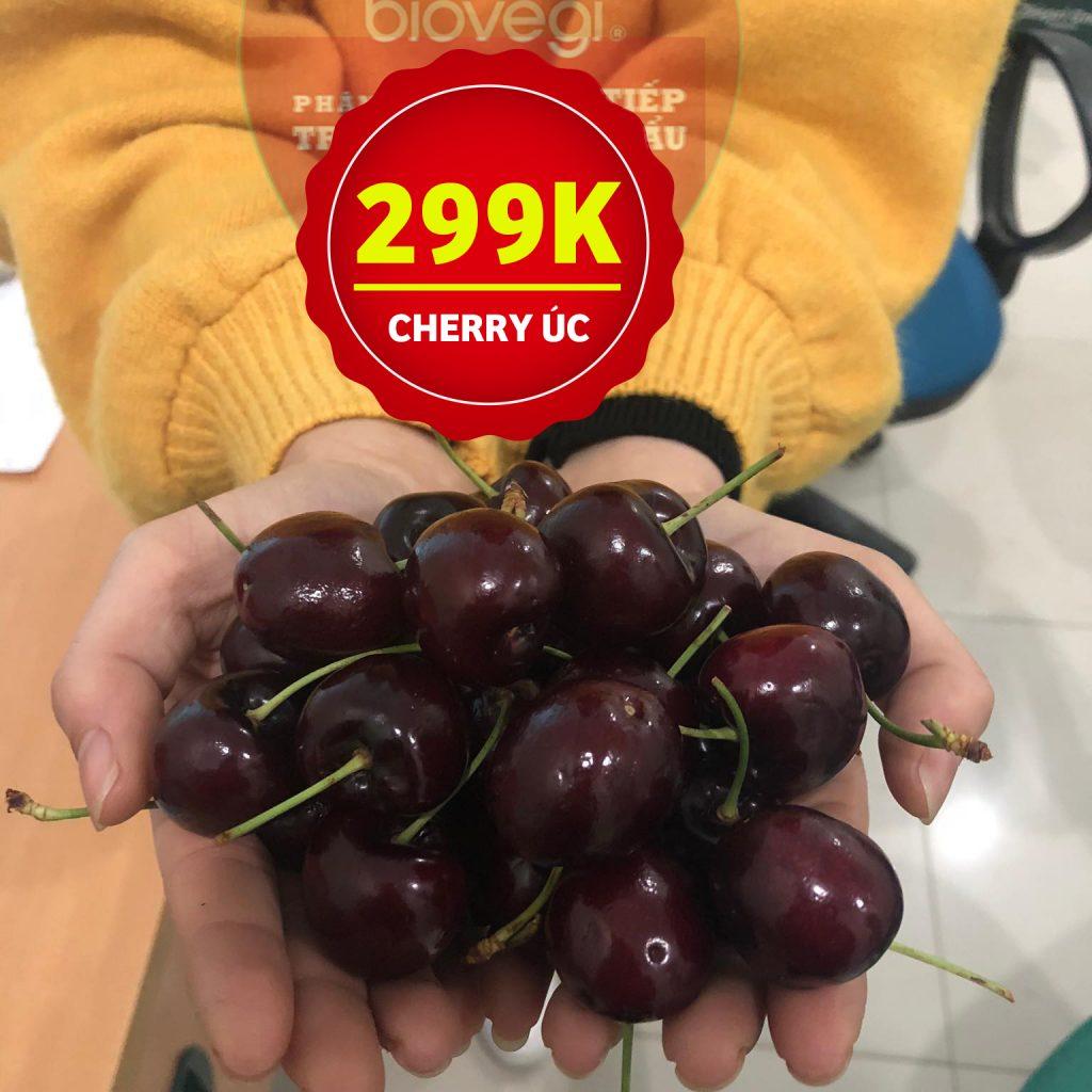 Trái Cherry Úc nhập khẩu ! Đã ngon hơn cherry Mỹ , giá lại mềm khó tìm