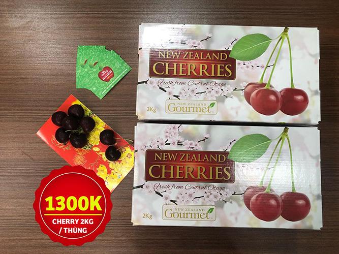 Hộp Cherry 2kg cực đẹp