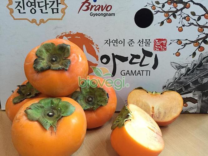 Hồng giòn Hàn Quốc
