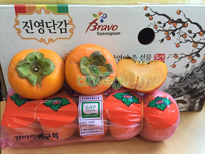 Hồng giòn Hàn Quốc - Biovegi(1)