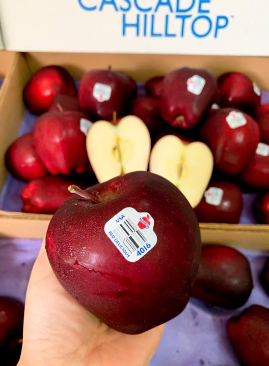 Táo Red Delicious #75k/kg