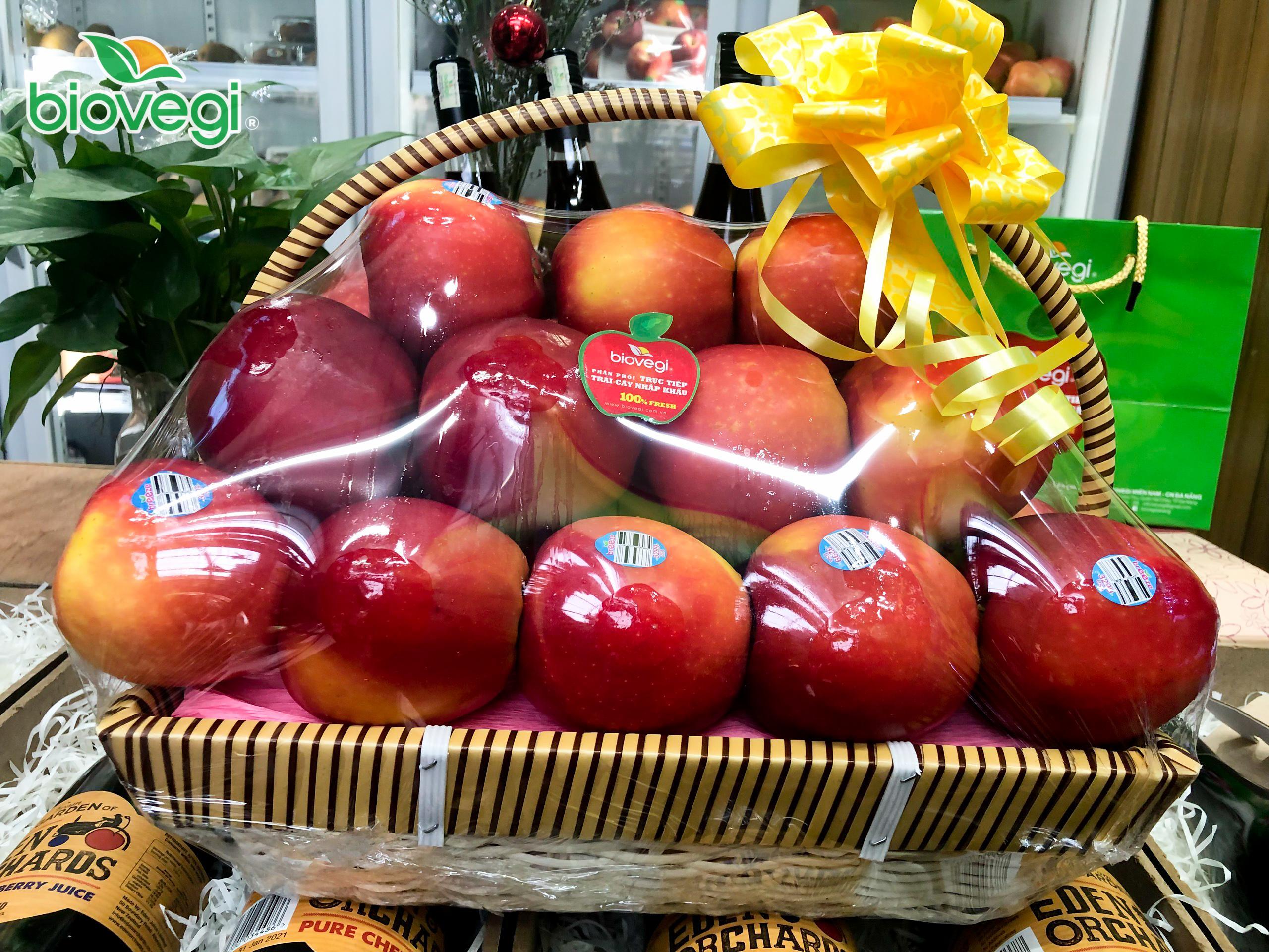 Giỏ 26 quả táo Ambrosia Canada