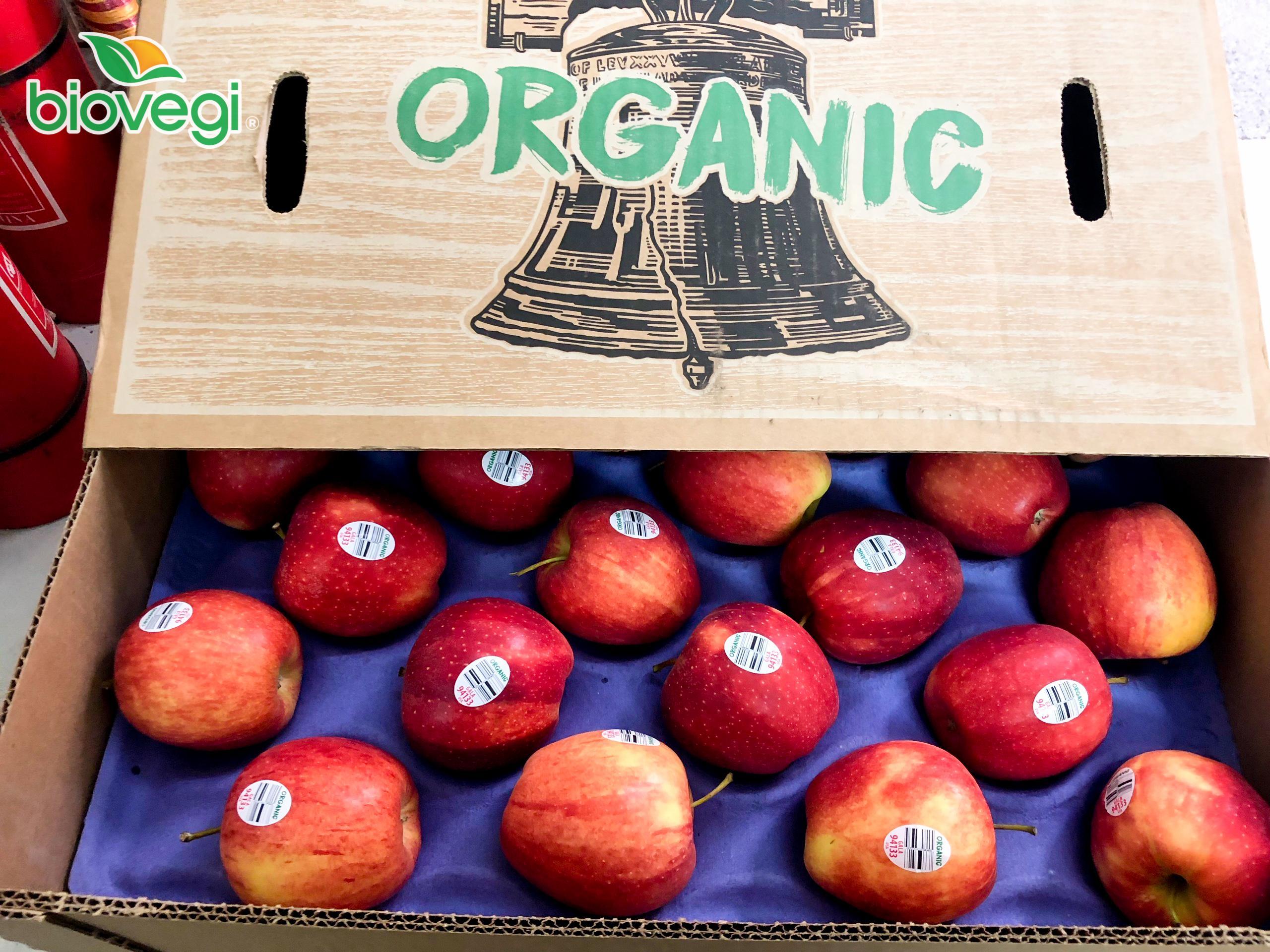 Táo Gala Organic #95k/kg (HÀNG MỚI VỀ)