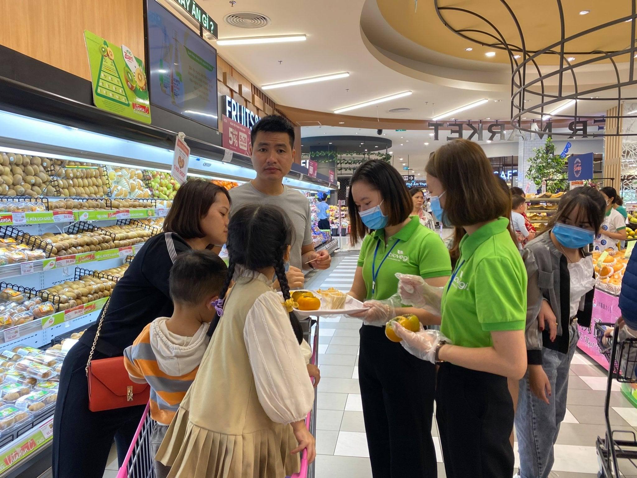 Đại tiệc Sampling Hồng Hàn Quốc kết hợp giữa Biovegi Việt Nam, aTCenter và Evergood Hàn Quốc